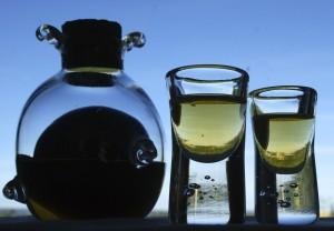 7 Krydersnaps flaske